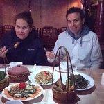 Henk Schram & his girlfriend enjoyed dinner