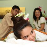 Receiving a Massage
