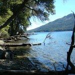 colores del lago gutierrez en verano