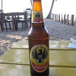 Imperial on the beach