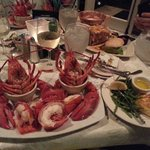 Twin Maine Lobster dinner
