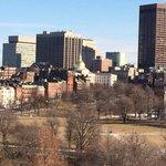 The Boston common in February