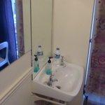 室内にある洗面所
