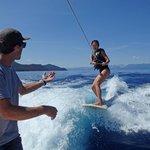 Wake surfing coaching