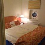 спальня на втором этаже двухместного номер