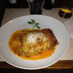 lasagna bolognese melts in your mouth!!!!!!