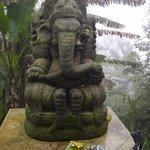 Ganesh at front gate