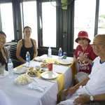 Lunch on Halong Bay cruise