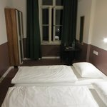 Not a double bed Room