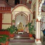 In side Ganapati Temple