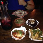 Sangria and tapas feast! Amazing! Just like Spain!