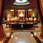 The grand lobby area.