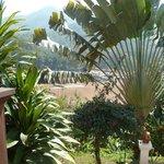 La vue sur le Mékong