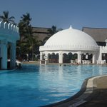 billede fra det smukke pool område