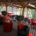 Beheizter Wintergarten mit Blick auf den Halensee - Perfekt für Veranstaltungen