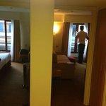 panoramica delle 2 camere