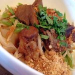 Noodle with Braised Beef - Dry