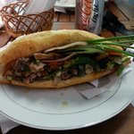 """Banh mi...with """"everything"""""""