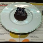 Dessert (myrtille/marron)