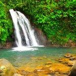 Waterfall near the main roan
