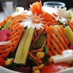 muhteşem amasra salatası