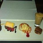 my selections of mini dessert.