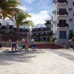 hotel vista desde playa
