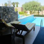 Номер 425 Junior Suite with Private Pool