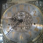 Took video of the grandfather clock at noon, love it!