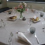 Il ristorante interno hotel per i clienti ma anche esterni:buono