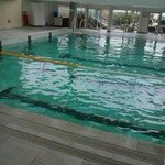 Piscine de 25M d' eau de mer chauffee...