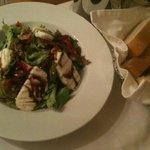 Grilled Halloumi Salad - best ever!