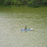 Caiaque no lago