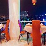Good night view of Kigali city