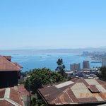 Vista da Baía de Valparaíso