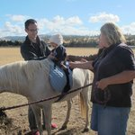 Flossie the pony