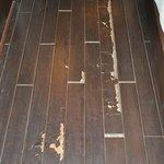 Damaged flooring, second visit