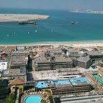 La vue sur la mer du 19 étage...:-(