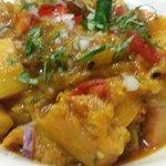 Sweet pumpkin curry