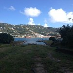 View of St. Thomas from Hassell Island