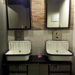 Bathroom area in room