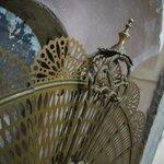 parascintille a ventaglio in ottone, camera Liquiritiam