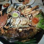 Seafood platter for 2.