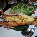 Lobster thermidore.