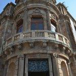 Beautiful ornate architecture is plentiful