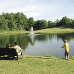 Bass Fishing Pond