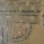 dettaglio affreschi, camera Salviam