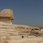 The Panorama of the Great Sphinx and the Pyramids of Giza