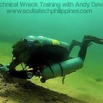 Technical Wreck Course, Philippines - Guideline deployment skills