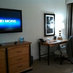 tv/desk area